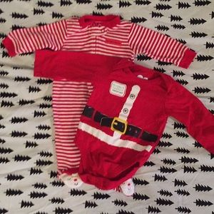 Baby's first Christmas 2 Piece Set! Like New!!